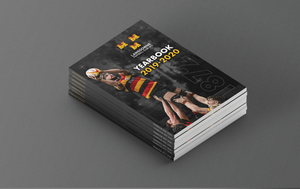 Lansdowne FC Visual Identity Stacks Creative