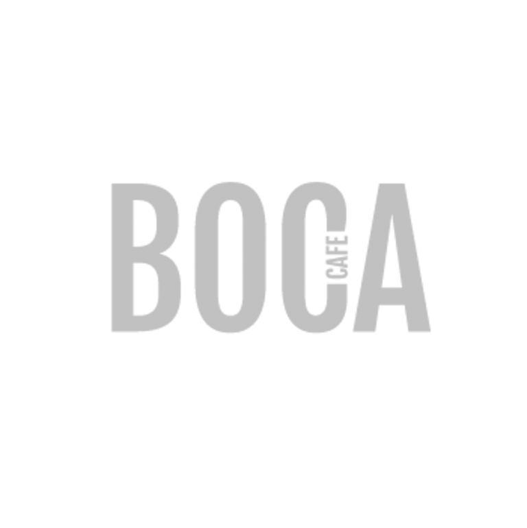 Boca Cafe Logo Grey