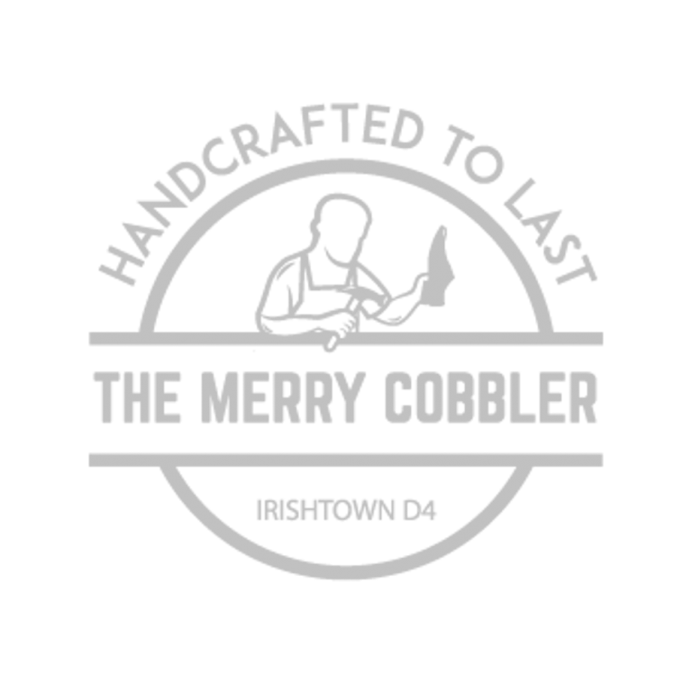 The Merry Cobbler Logo Grey