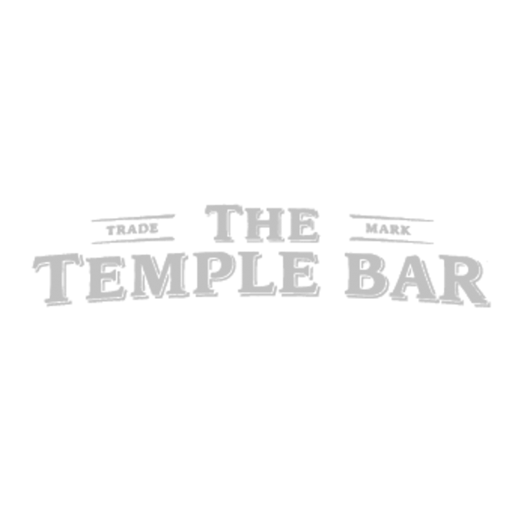 The Temple Bar Logo Grey