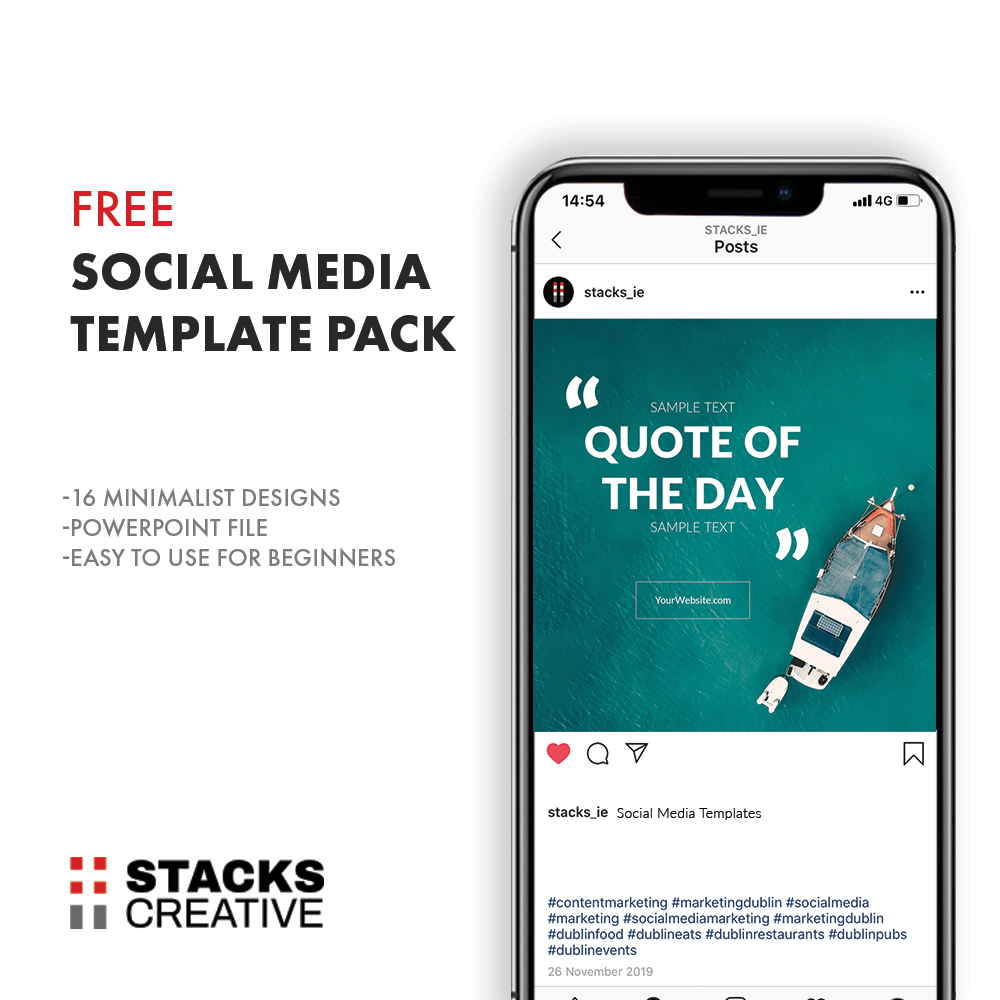 Free Social Media Template Pack Stacks Creative
