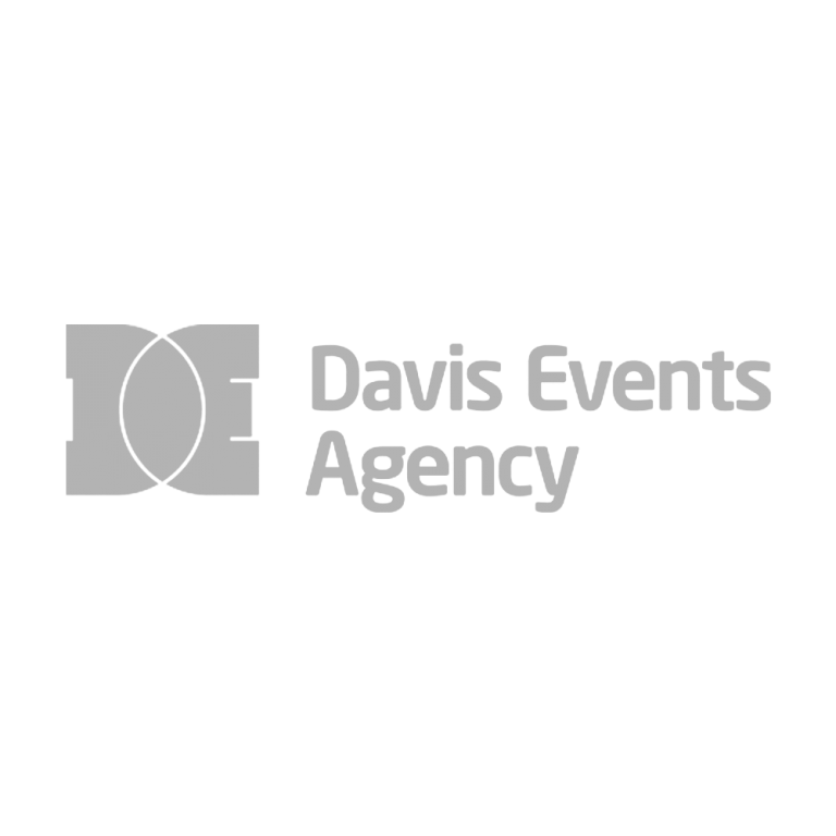 Davis Events Agency Logo Grey
