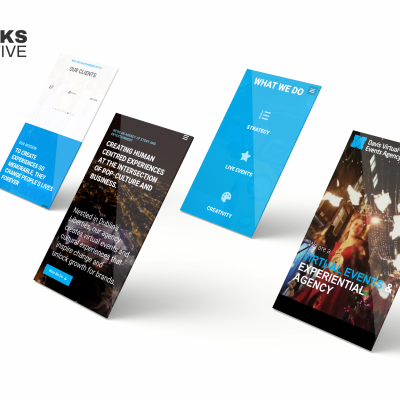 Davis Events Mobile Web Design